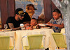2010 July 9 - Swizz Beatz has lunch with his kids at Cipriani in NYC.  Photo credit Jackson Lee