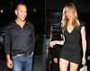 2010 Aug 31 - Cameron Diaz and Alex Rodriguez celebrater her birthday at the Lion in NYC.  Photo credit Jackson Lee