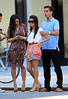 2010 Sept 8 - Kim Kardashian, Kourtney Kardashian, Scott Disick out and about in NYC scoping out locations for the new Dash store.  Photo credit Jackson Lee