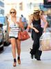 2010 Sep 11 - Exclusive: Lindsay Lohan goes shopping with Ali Lohan, Kim Kardashian and Kris Kardashian in NYC. Photo credit Jackson Lee
