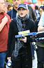 2010 Sept 13 - Madonna on the set of her movie 'W.E.' in NYC.  Photo credit Jackson Lee