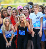 2010 Sep 22 - Annalynne Mccord, Kelly Ripa, Krisin Chenoweth compete in the 2nd annual High Heel-a-thon in Central Park, NYC. Photo credit Jackson Lee