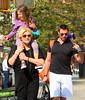 2010 Sep 23 - Hugh Jackman and Deborah-Lee Furness pick up Ava Eliot from school in NYC. Photo credit Jackson Lee