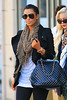 2010 Oct 9 - Kim Kardashian out and about in NYC. Photo Credit Jackson Lee