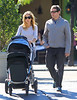 2010 Oct 10 - Sarah Jessica Parker and Matthew Broderick takes Marion and Tabitha out to the park in NYC. Photo Credit Jackson Lee
