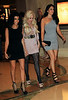 2010 Oct 14 - Kim Kardashian and Kourtney Kardashian go shopping for Kim's 30th birthday outfit, then go out for a pre-birthday dinner at LAVO in Las Vegas, NV. Photo Credit Jackson Lee