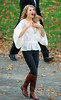 2010-10-25 - Taylor Swift waves to her fans and takes a walk in Central Park in NYC. Photo credit Jackson Lee