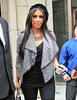 2010 Nov 6 - Kim Kardashian out and about in NYC.  Photo Credit Jackson Lee