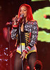2010 Nov 15 - Rihanna performs a concert in Times Square for MTV's Seven show.  Photo Credit Jackson Lee