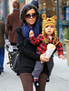 EXCLUSIVE<br /> 2010 Nov 16 - Scott Disick, Kourtney Kardashian, Mason out and about in NYC.  Photo Credit Jackson Lee