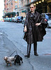 2010 Nov 21 - EXCLUSIVE: Kelly Rutherford does a photoshoot with two dachshunds in NYC.  Photo credit Jackson Lee