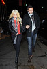 2010 Nov 27 - Christina Aguilera and Matt Rutler hangs out for the first time in NYC. This is the first time the new couple has been photographed in NYC. After dinner at the Corner Deli, the pair headed to Boom Boom room where they partied until 3am..  Photo Credit Jackson Lee
