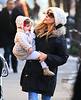 2011 01 11 - Sarah Jessica Parker out and about with twins Tabitha and Marion (in stoller) in NYC. Photo Credit Jackson Lee