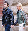 2011 Feb 6 - Josh Kelly and Katherine Heigl only have eyes for each other as they go shopping in Soho with mom Nancy and picking up earrings and dresses. The couple even shared a kiss at a store..  Photo credit Jackson Lee