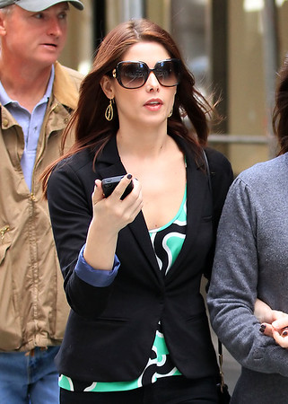 2011 Mar 18 - Ashley Greene goes to Gemma for lunch, then to ABC Carpet with her parents Joe and Michele in NYC. Photo Credit Jackson Lee