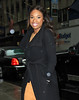 2011 Mar 23 - Jennifer Hudson out and about in the rain for the 'Wendy Williams Show' in NYC. Photo Credit Jackson Lee