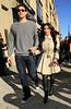 2011 Mar 27 - Lovebirds Kim Kardashian and Kris Humphries are all smiles while holding hands in the Meatpacking District to shop at Jefferies and Alexander McQueen in NYC. Photo Credit Jackson Lee