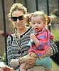 2011 Apr 9 - Sarah Jessica Parker takes twins Tabitha and Marion to play in the park in NYC. Photo Credit Jackson Lee