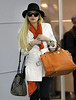 2011 Apr 11 - Lindsay Lohan arrives at JFK Airport in NYC. Photo Credit Jackson Lee