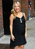 Non-Exclusive<br /> 2011 Apr 27 - Kate Hudson departing at the 'David Letterman Show' showing her engagement ring and baby bump in NYC. Photo Credit Jackson Lee