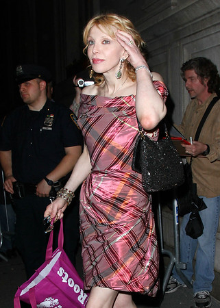 2011 Apr 28 - Courtney Love at The Hawn Foundation tonight at the Metropolitan Club in NYC. Photo Credit Jackson Lee