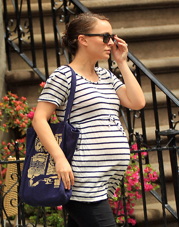 2011 Apr 28 - Natalie Portman out and about in NYC. Photo Credit Jackson Lee