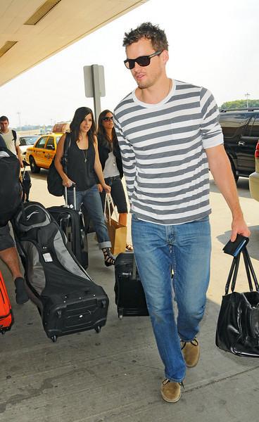 16 Aug 2009 - Sophia Bush and Austin Nichols leave NYC. Photo Credit Jackson Lee