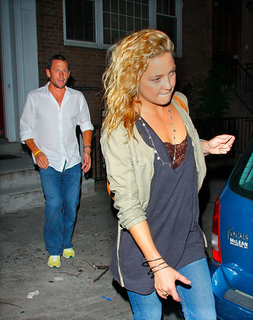 15 June 2008 - New York, NY - Lance Armstrong and Kate Hudson head to the Iron Maiden Concert at Madison Square Garden.  Photo Credit Jackson Lee