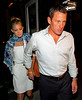 17 June 2008 - New York, NY - Kate Hudson and Lance Armstrong look happy together holding hands while coming out after dinner.  Photo Credit Jackson Lee