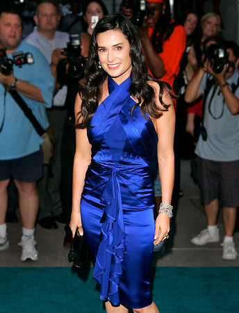 23 June 2008 - New York, NY - Demi Moore at the Worldwide Launch of the Trump International Hotel & Tower Dubai.  Photo Credit Jackson Lee