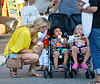 24 June 2008 - New York, NY - Heidi Klum and her kids Leni, Johan, Hentry and her mom Ema go out for lunch at Bar Pitti and gets ice cream and shops afterwards.  Heidi shopped at Tommy Hilfiger in the West Village.  Photo Credit Jackson Lee