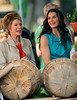 27 June 2008 - New York, NY - Brooke Shields and Mary Tyler Moore film a scene for 'Lipstick Jungle' where Mary is playing Brooke's mother.  Photo Credit Jackson Lee