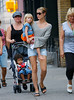 EXCLUSIVE<br /> 30 June 2008 - New York, NY - Heidi Klum and her kids Leni and Johan, mum Eva out for a walk in sunny West Village.   Photo Credit Jackson Lee