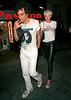 4 July 2008 - New York, NY - Agyness Deyn and Albert Hammond Jr. at Noel Ashman's birthday party at Plumm.  Photo Credit Jackson Lee