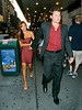 EXCLUSIVE<br /> 5 July 2008 - New York, NY - Nick Lachey and Vanessa Minnillo both dressed coordinated in red, go to see Drew Lachey perform at the Broadway show 'Spamalot'.  The two, looking very much in love, also had a romantic dinner at the Gramercy Park Hotel before the show and went to new NYC hotspot Empire hotel for a nightcap afterwards.  Photo Credit Jackson Lee