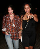 5 August 2008 - New York, NY - Zoe Kravitz and Olivia Thirlby out and about in NYC.   Photo Credit Jackson Lee
