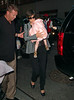 9 August 2008 - New York, NY - Katie Holmes takes Suri to see 'Mary Poppins' on Broadway.   Photo Credit Jackson Lee