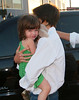 12 August 2008 - New York, NY - Katie Holmes takes Suri Cruise to the gym at Chelsea Piers.   Photo Credit Jackson Lee