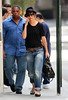 23 August 2008 - New York, NY - Katie Holmes arrives rehearsals for her upcoming Broadway debut.   Photo Credit Jackson Lee