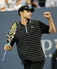 29 August 2008 - New York, NY - Andy Roddick plays against Ernests Gulbis in the 2008 US Open.   Photo Credit FZS/SIPA