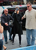 14 September 2008 - Katie Holmes arrives to rehearsals for 'All My Sons'.   Photo Credit Jackson Lee