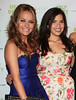 15 September 2008 - Becki Newton and America Ferrera at Ugly Betty Premiere Party at High Bar.   Photo Credit Jackson Lee