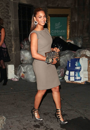 16 September 2008 - Beyonce at the New Yorkers for Children fall gala at Cipriani 42nd.   Photo Credit Jackson Lee