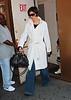 17 September 2008 - Katie Holmes arrives to final rehearsals for 'All My Sons'.   Photo Credit Jackson Lee