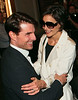 17 September 2008 - Tom Cruise visits Katie Holmes at a preview show of her new Broadway show 'All My Sons' .   Photo Credit Jackson Lee