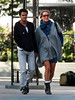 19 September 2008 - Melissa Theuriau and Jamel Debbouze out for a day of fun in NYC.  They went walking hand-in-hand, kissed and hugged, eat at cafe, shopping for baby items.  Photo Credit Jackson Lee/Tom Meinelt