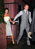 26 September 2008 - Victoria Beckham and David Beckham go to Waverly Inn for dinner.  Photo Credit Jackson Lee