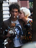 12 October 2008 - Agyness Deyn and Albert Hammond Jr out and about with their dogs in NYC.  Photo Credit Jackson Lee