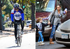 19 October 2008 - Sarah Jessica Parker takes son James Wilkie to see 'Peter & the Wolf' while Matthew Broderick buys a new bike and breaks it in by riding with pals around New York.   Photo Credit Jackson Lee