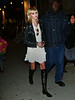 24 October 2008 - First shots of Taylor Momsen out and about in NYC at the trailers for 'Gossip Girl' since she was hospitalized for a life-threatening throat infection.   Photo Credit Jackson Lee